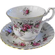 Royal Albert cup and saucer  (6 available)