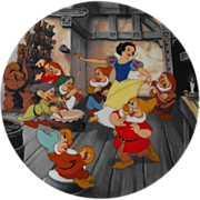 Disney: Snow and the Seven Dwarfs: Circa 1991