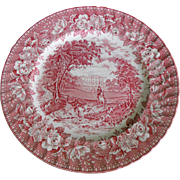 Aynsley Ironstone Plate  - England's Heritage