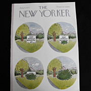 New Yorker Magazine Cover: February 1, 1969