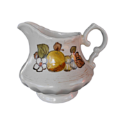 Vernonware Fruit Basket by Metlox  cream pitcher        circa 1970