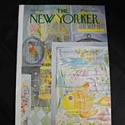 New Yorker Magazine Cover: February 6, 1971