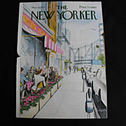 New Yorker Magazine Cover: May 16, 1977