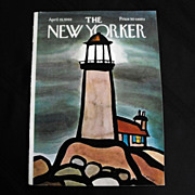New Yorker Magazine Cover: April 19, 1969