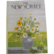 New Yorker Magazine Cover: June 28, 1969
