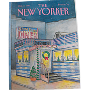 New Yorker Magazine Cover: December 7, 1987