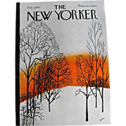 New Yorker Magazine Cover: February 7, 1970