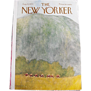 New Yorker Magazine Cover: August 22, 1970