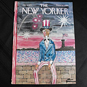New Yorker Magazine Cover: July 4, 1970