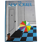 New Yorker Magazine Cover: April 8, 1972