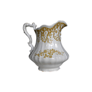 Ironstone Pitcher Waverley by Johnson Brosthers
