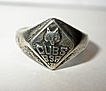 Vintage 1950�s Cubs - Boy Scouts of America Ring - Sterling Silver