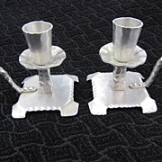 REDUCED Candleholders - Everlast Forged Aluminum