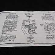 REDUCED Souvenir Towel Birr Castle County Offaly Ireland