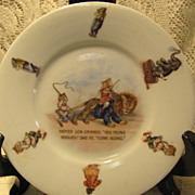 REDUCED Father Lion Children's Plate