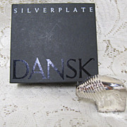 DANSK Silverplate Bison/Buffalo
