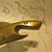 Shark Bottle Opener - Brass