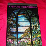 REDUCED Tiffany Treasures Windows 1983 Miniatures Plastic Films Pictures by A. Duncan