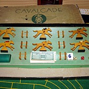 Vintage CAVALCADE American Horse Racing Game By Selchow & Righter Co. New York, NY