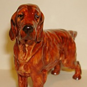 Royal Doulton Irish Setter CH 'PAT O' MOY' Dog Figurine