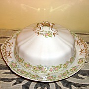 Vintage O.P.  Co. Syracuse China Butter Dish