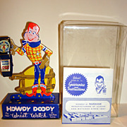 1954 Howdy Doody Wrist Watch In Original Box Excellent Condition