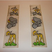 Disney Cartoons Characters Press Iron Fabric stickers 1946