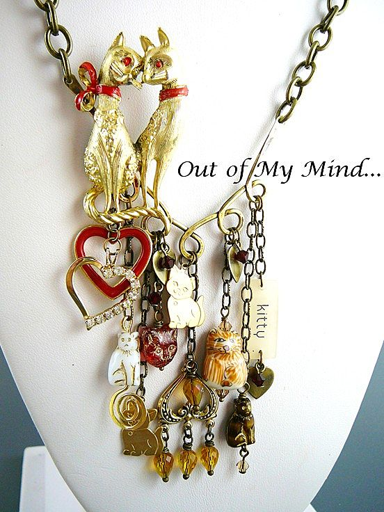 Let Me Count the Ways ~ Out of My Mind Charm Necklace
