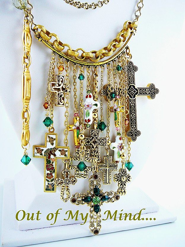 Glorious ~ Out of My Mind Charm Necklace