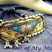 SOLD Tea Time Collection ~ Out of My Mind Soldered Bracelet