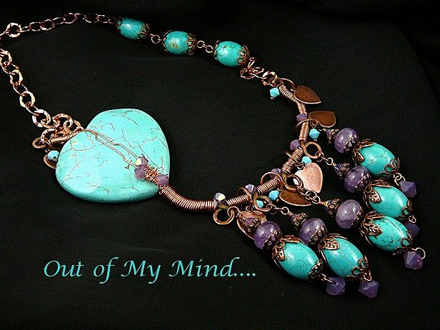 Near to My Heart ~ Out of My Mind Necklace