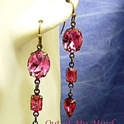 Simply Rhinestone ~ Out of My Mind Earrings