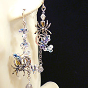Spidey Sense ~ Out of My Mind Asymmetrical Earrings