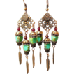 Picasso in Copper ~ Out of My Mind Earrings
