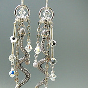 Sultry Snake ~ Out of My Mind Earrings