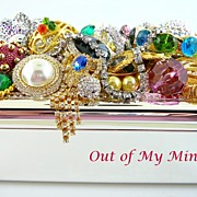SOLD Inside Out II~ Out of My Mind Collage Jewelry Box