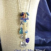 SOLD Rescue Me ~ Out of My Mind Necklace