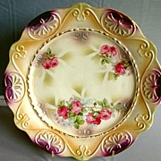SALE RS Germany Plate with Iridescent Finish - Schlegelmilch  Family