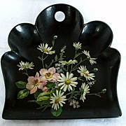 Papier Mache Crumb Tray, Antique19thC English Victorian