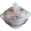 John Ridgway Sugar Bowl, Bone China,  Antique English, c1830