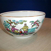 Bridgwood Waste Bowl, Pekin Pattern, Antique 19thC English Chinoiserie