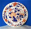 Coalport Plate, Hand Painted English Imari, Antique Early 19thC Porcelain