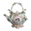 Coalbrookdale Teapot, Signed, John Rose Coalport, Antique 19thC English