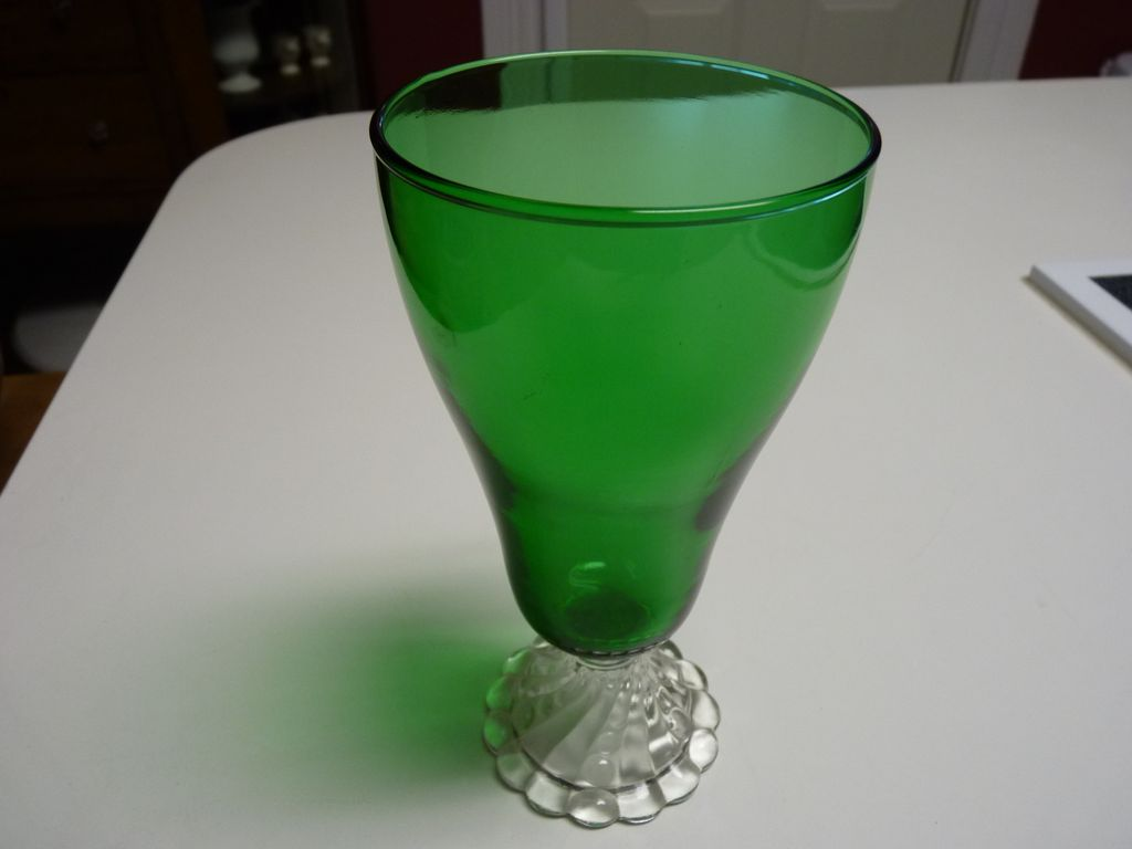 Anchor Hocking Glassware Forest Green Anchor Hocking Green Boopie