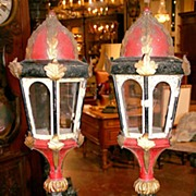 Pair of Italian Lamp Bases