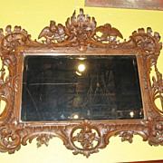 Walnut Provincial Mirror
