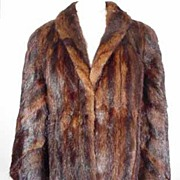 SALE PENDING Rich Mink Lunaraine Great Unique Cape/Stole