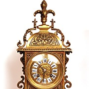 SOLD French Bronze Mantel Clock