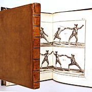 SOLD Antique French Encyclopedie of Military Arts with 73 Engraved Plates