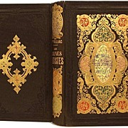 "SOLD French Romantic Binding, ""Les Jeunes Artistes"" circa 1858"